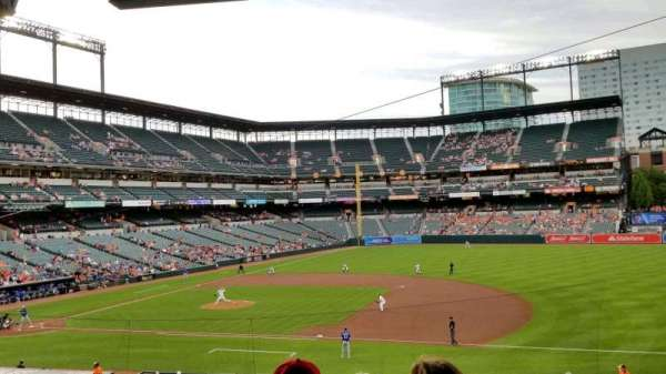 Oriole Park at Camden Yards, section: 17, row: 6, seat: 2