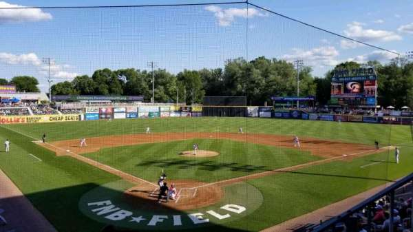 FNB Field, section: 204, row: 1, seat: 23