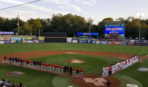 FNB Field, section: 203, row: 1, seat: 11