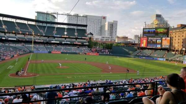 Oriole Park at Camden Yards, section: 27, row: 4, seat: 6