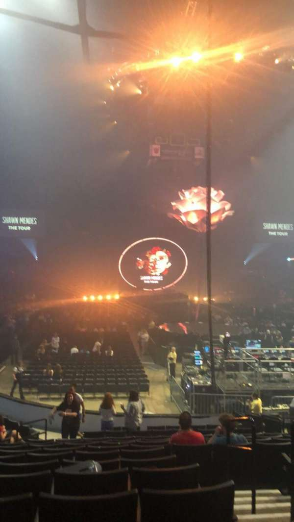 Van Andel Arena, section: 102, row: P, seat: 2