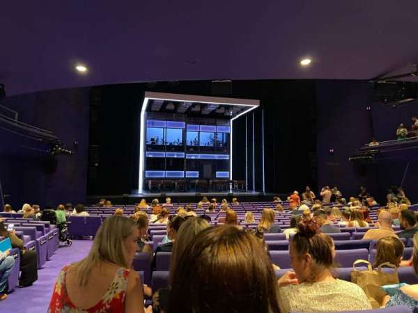 The Lowry, section: Stalls, row: V, seat: 31