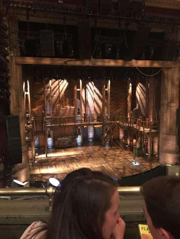 CIBC Theatre, section: mezzanine lc, row: B, seat: 317