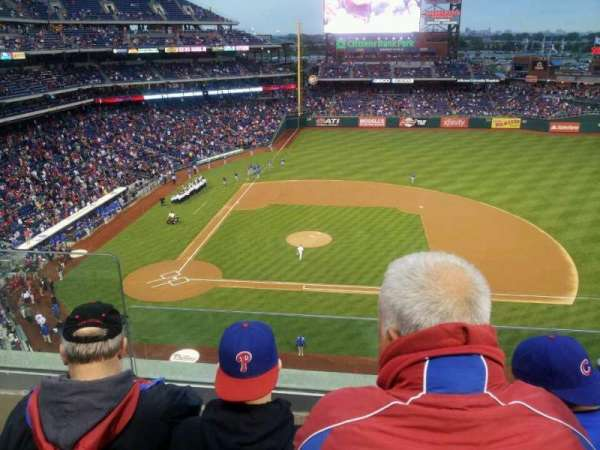 Citizens Bank Park, section: 315, row: 3, seat: 22