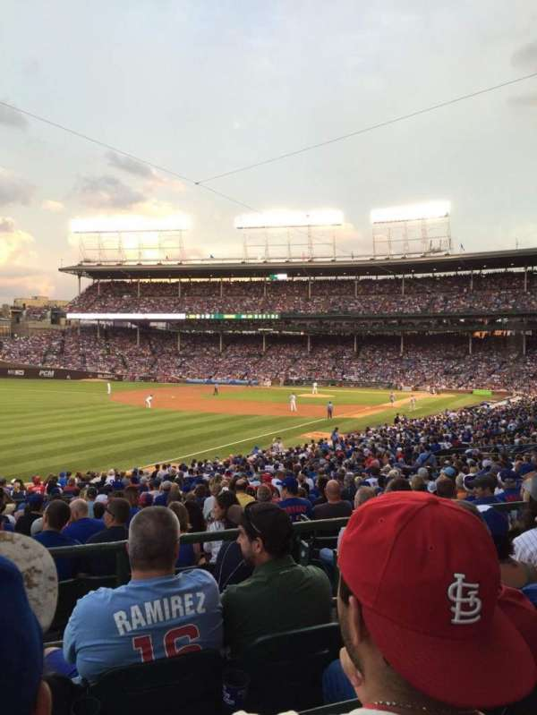 Wrigley Field, section: 204, row: 4, seat: 11