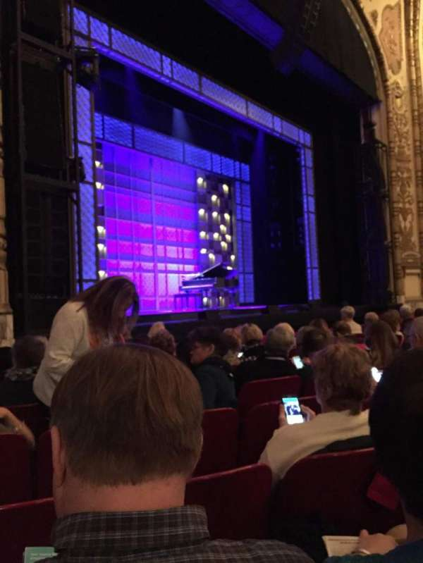 Cadillac Palace Theater, section: OrchFL, row: H, seat: 25
