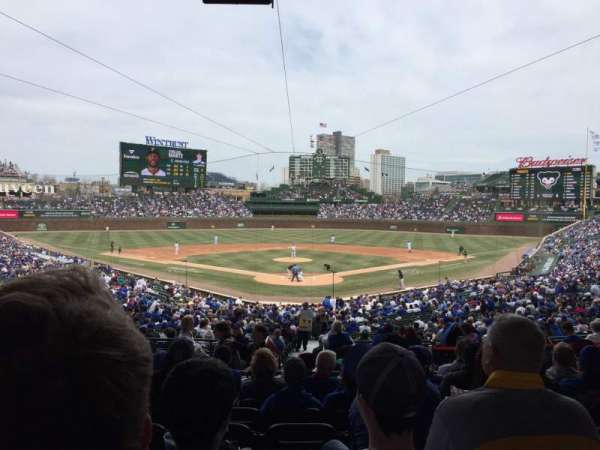 Wrigley Field, section: 220, row: 8, seat: 11