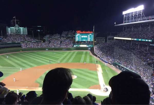 Wrigley Field, section: 313L, row: 10, seat: 4