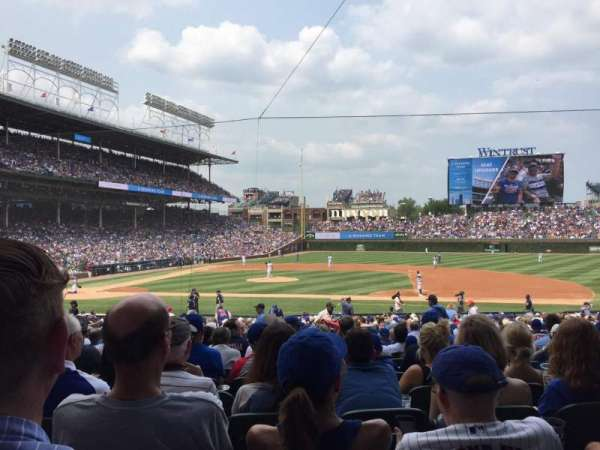 Wrigley Field, section: 124, row: 14, seat: 11