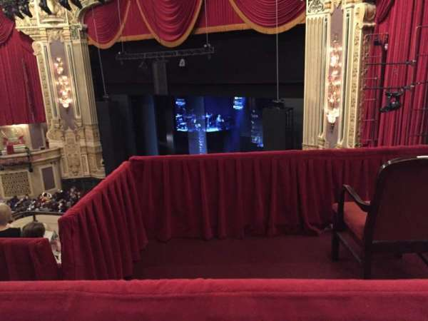 James M. Nederlander Theatre, section: Balcony FR, row: E, seat: 382