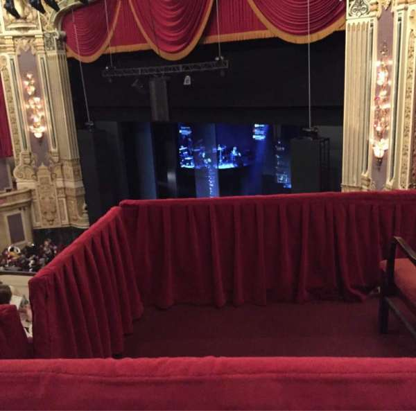 James M. Nederlander Theatre, section: Balcony FR, row: E, seat: 380