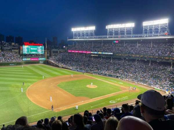 Wrigley Field, section: 308L, row: 8, seat: 2
