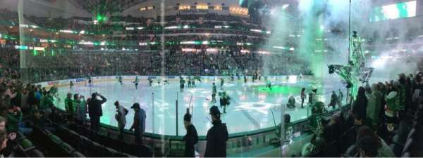 American Airlines Center, section: 120, row: F, seat: 2