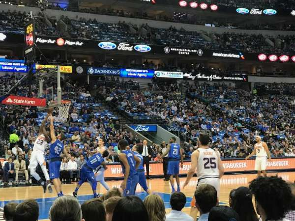 American Airlines Center, section: 108, row: B, seat: 13