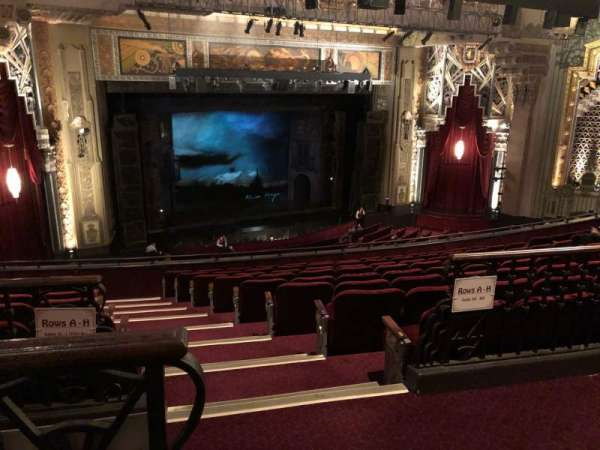 Pantages Theatre (Hollywood), section: MEZZL, row: J, seat: 1