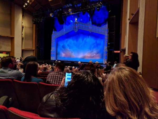 Sacramento Community Center Theater, section: Orchestra, row: N, seat: 1