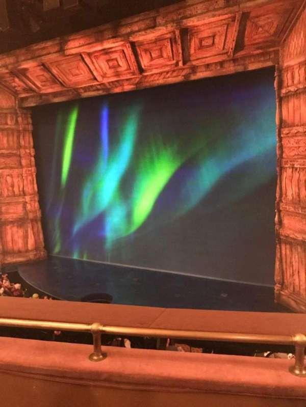 St. James Theatre, section: Mezzanine R, row: C, seat: 16