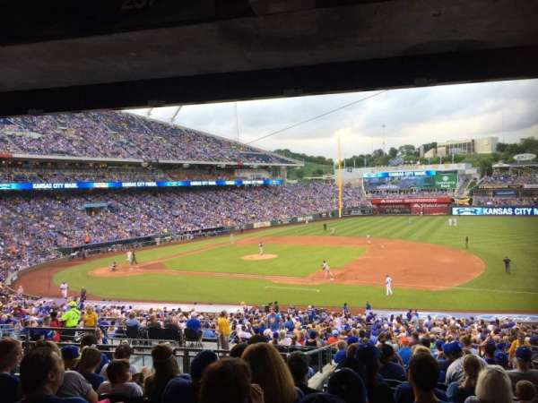 Kauffman Stadium, section: 237, row: P, seat: 8