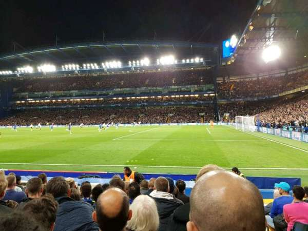 Stamford Bridge, section: East Stand Lower 6, row: M, seat: 192