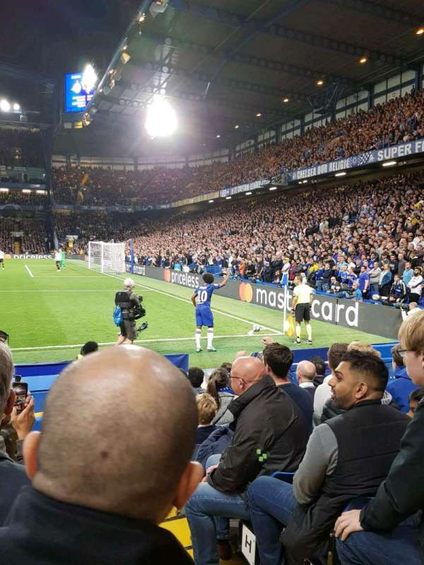 Stamford Bridge, section: East Stand Lower 6, row: M, seat: 193