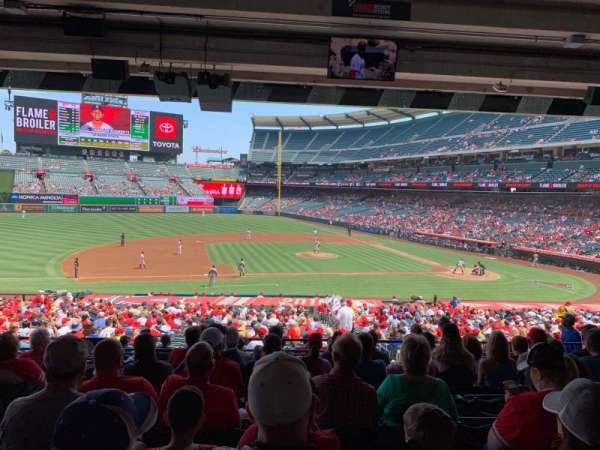 Angel Stadium, section: T211, row: J, seat: 3