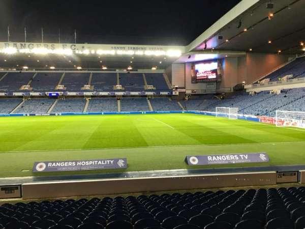 Ibrox Stadium, section: SE4, row: Q, seat: 098
