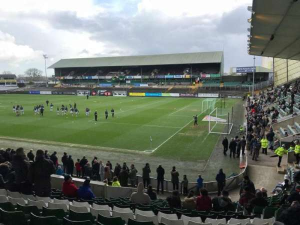 Home Park, section: 8, row: T, seat: 212