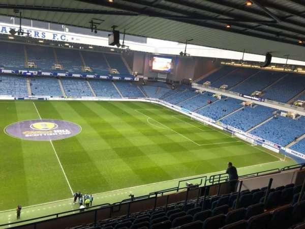 Ibrox Stadium, section: CD4, row: L, seat: 0181