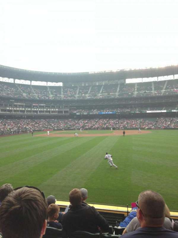 T-Mobile Park, section: 107, row: 4