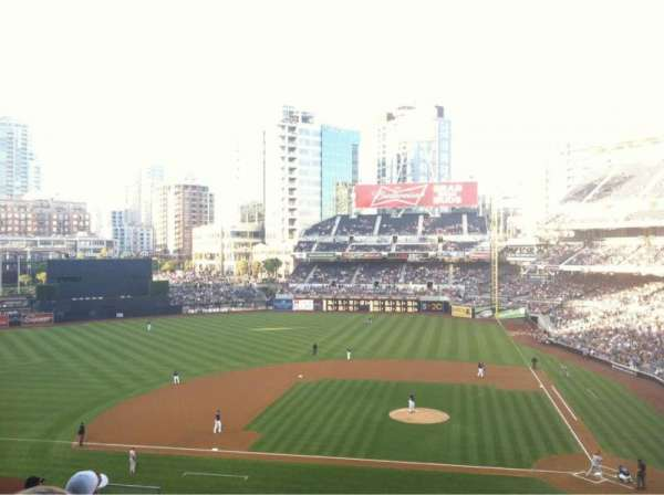 PETCO Park, section: 208, row: 16