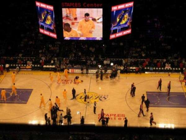 Staples Center, section: 318, row: 7, seat: 13
