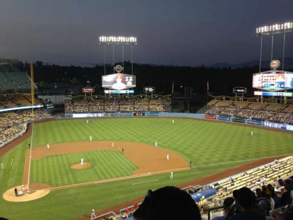 Dodger Stadium, section: 8RS, row: K, seat: 15