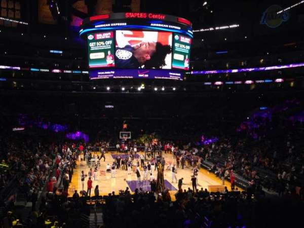 Staples Center, section: 217, row: 6, seat: 9