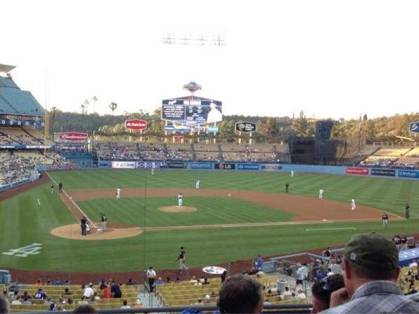 Dodger Stadium, section: 116LG, row: F, seat: 3
