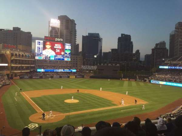 PETCO Park, section: 201, row: 7, seat: 1