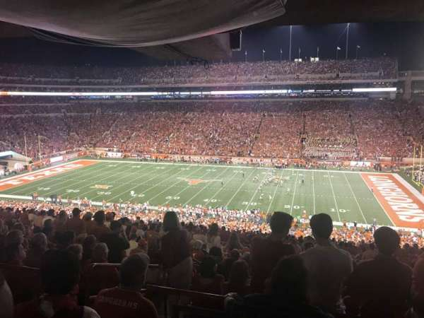 Texas Memorial Stadium, section: 3, row: 66, seat: 4