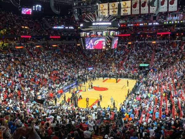 American Airlines Arena, section: 123, row: 35, seat: 22