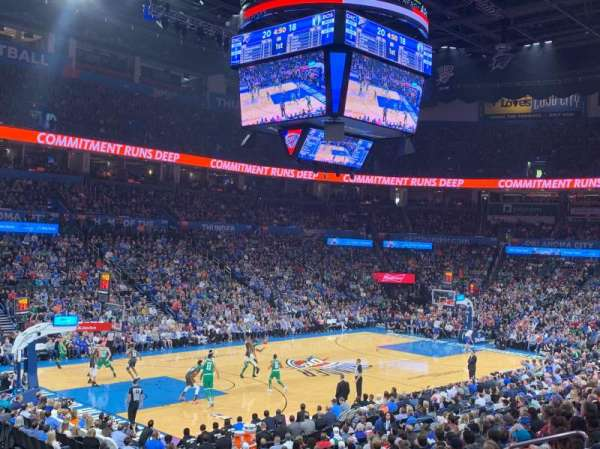 Chesapeake Energy Arena, section: 118, row: S, seat: 13