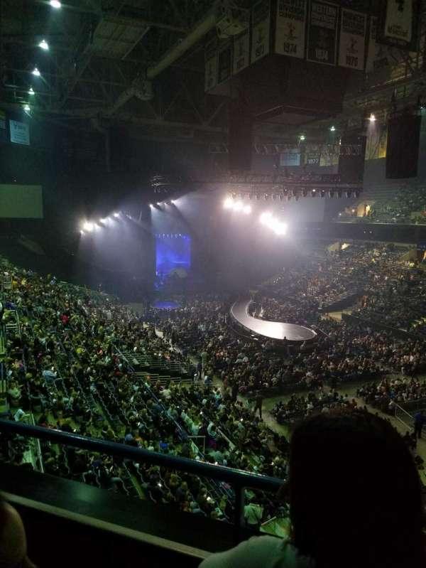 BMO Harris Bradley Center, section: 416, row: B, seat: 8