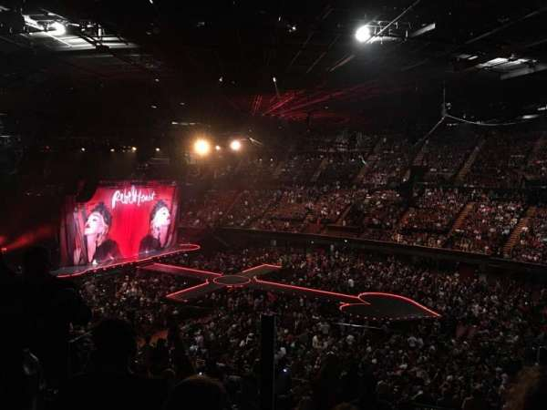 The Forum, section: 230, row: 5, seat: 8