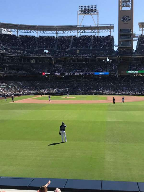 PETCO Park, section: 133, row: 5D, seat: 5