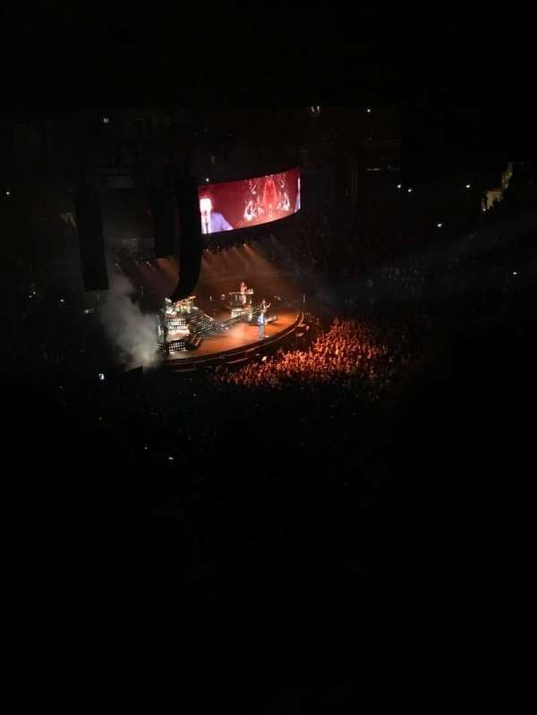 Madison Square Garden, section: 225, row: 15, seat: 17