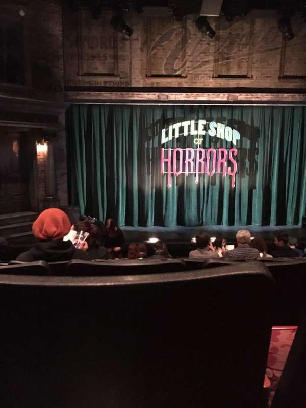 Westside Theatre, section: Orchestra, row: K, seat: 110