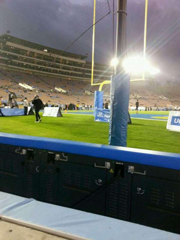 Rose Bowl, section: 26-L, row: N, seat: 1