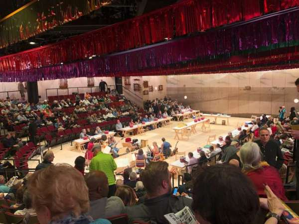 Circle in the Square Theatre, section: Orchestra 100 (Even), row: K, seat: 136