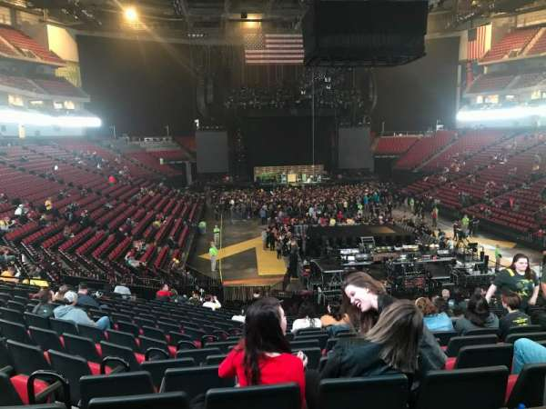 Pinnacle Bank Arena, section: 113, row: 26, seat: 12