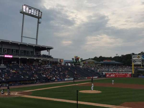 PNC Field, section: 15, row: 13, seat: 16