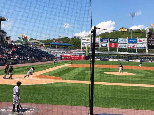 PNC Field, section: 18, row: 7, seat: 7