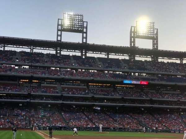 Citizens Bank Park, section: 109, row: 9, seat: 4