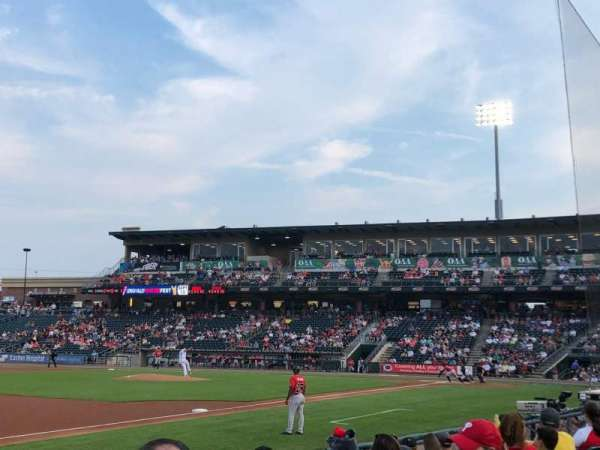 Coca-Cola Park, section: 119, row: G, seat: 18